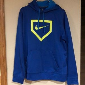 Men's Nike baseball sweatshirt. Size M